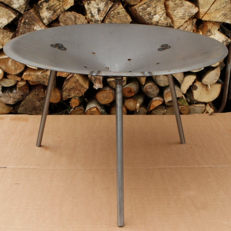 Fire Pit With Removable Legs Made In Devon