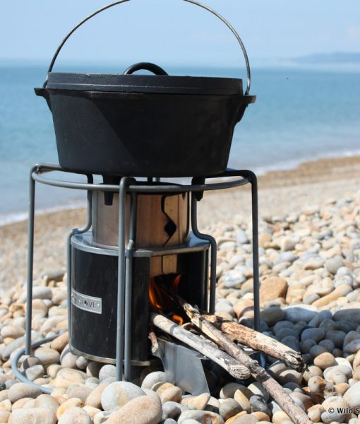 EzyStove with Dutch Oven