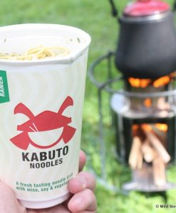 EzyStove with Kabuto Noodle pack