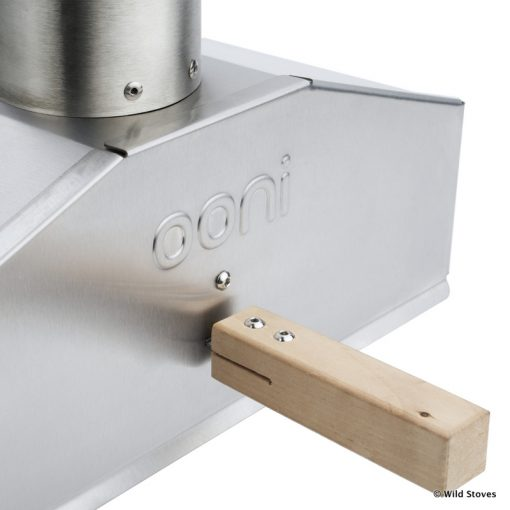 Ooni 3 pizza oven door detail