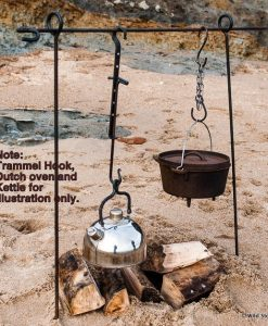 Campfire Cooking Tripod hanging