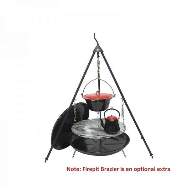 Bon-fire complete outdoor cooking set