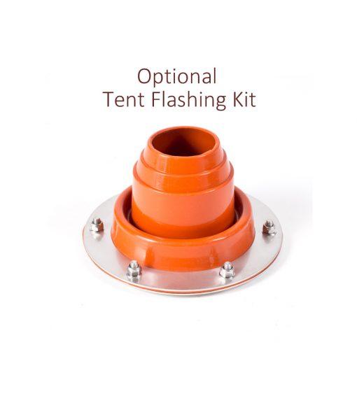 Frontier tent flashing kit