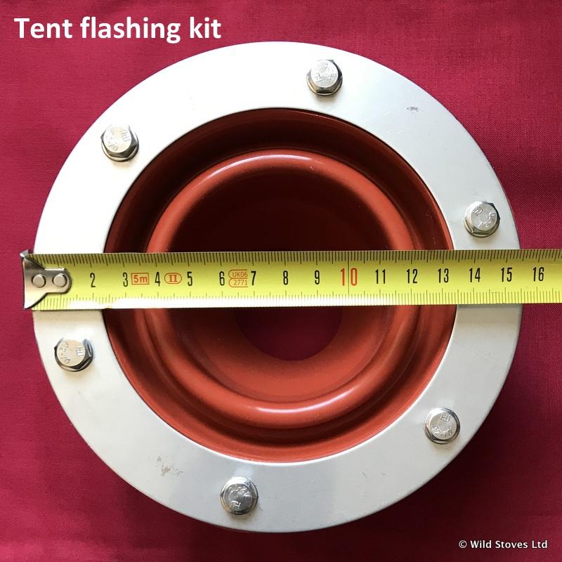 Frontier tent flashing measurements