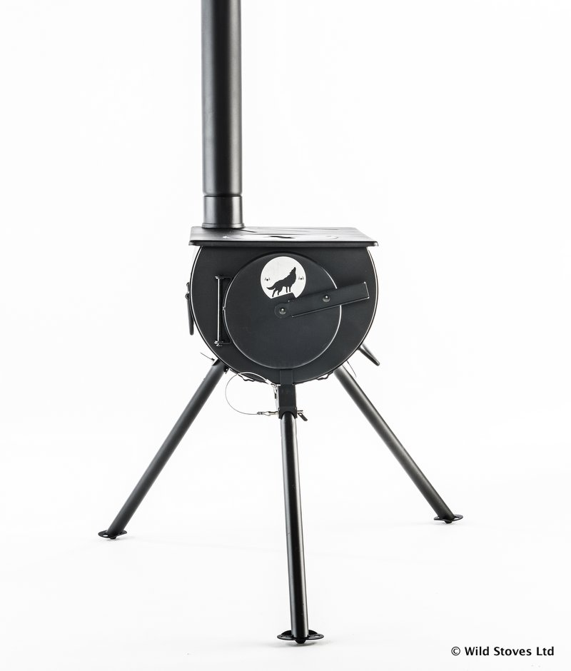 Frontier Stove Wood Fuelled Heater And Cooker