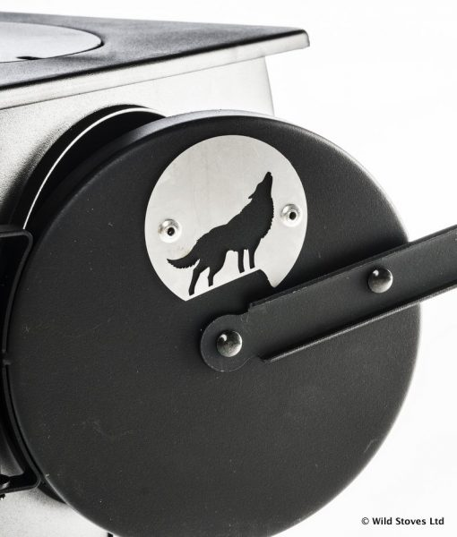 Frontier Stove New wolf sign