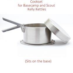 Cook Set Large fits Kelly Kettle Basecamp & Scout
