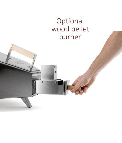 Uuni Pellet burner fitted