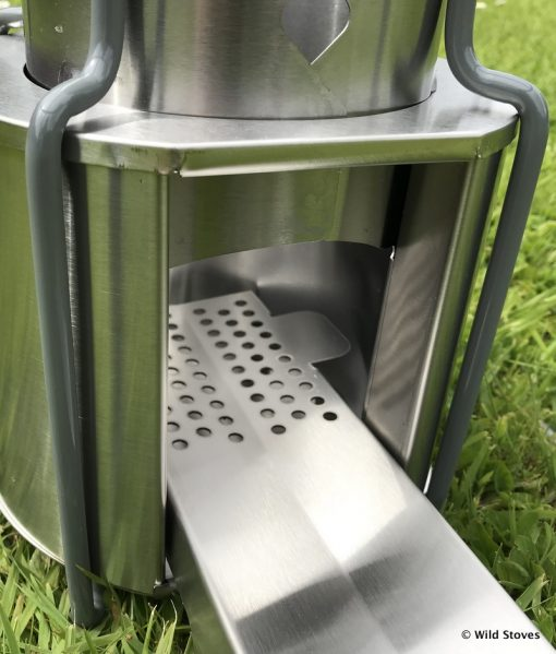 EzyStove X - Stainless Steel