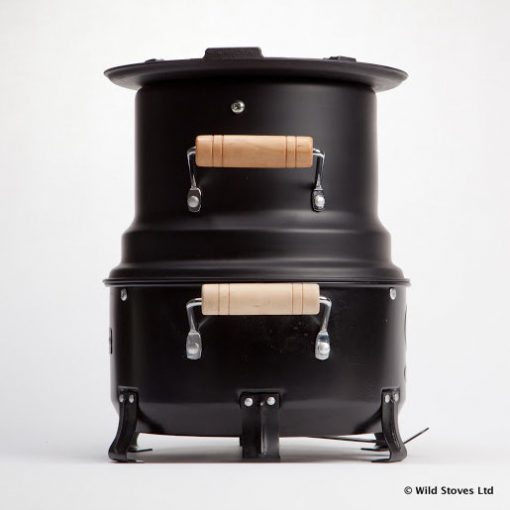 CH4400 Envirofit Charcoal Stove Side