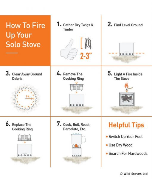 Solo Stove Lite Instructions