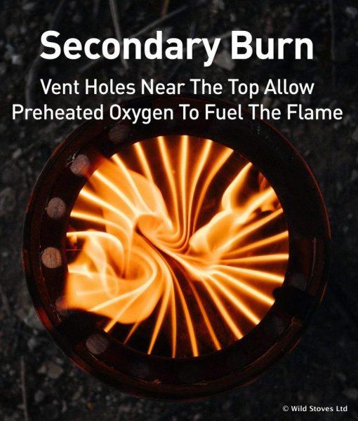 Solo Stove Lite Secondary Burn