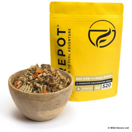 Firepot Food 0011 Beef Yellow pack