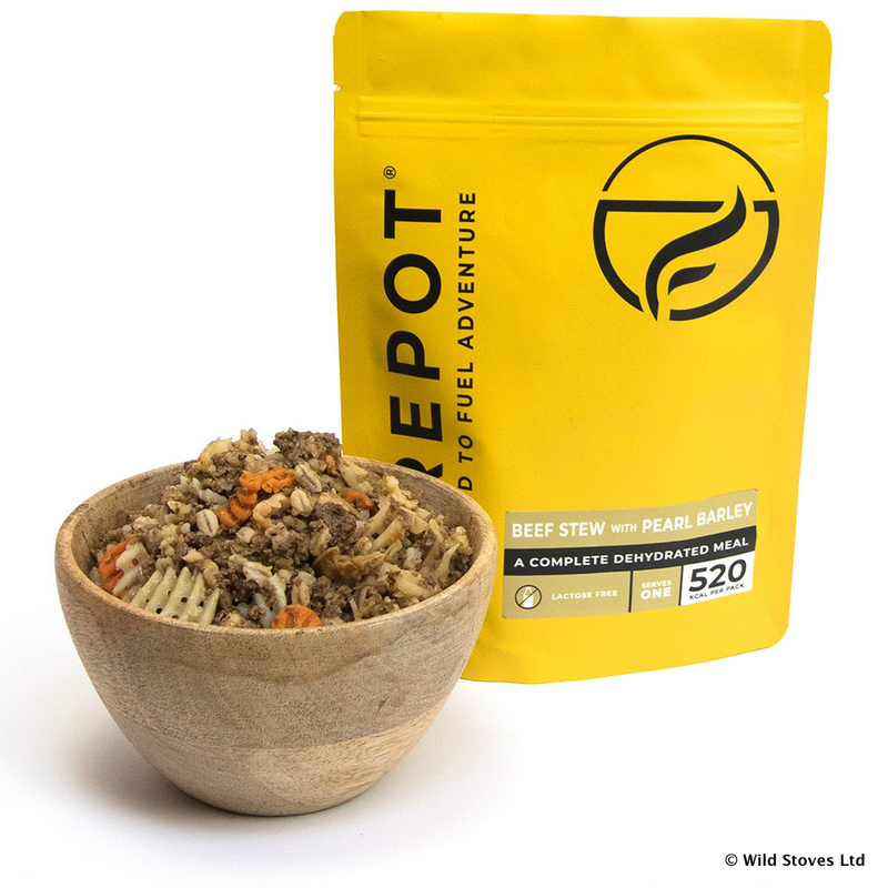 Beef Stew With Pearl Barley Firepot Dehydrated Meals