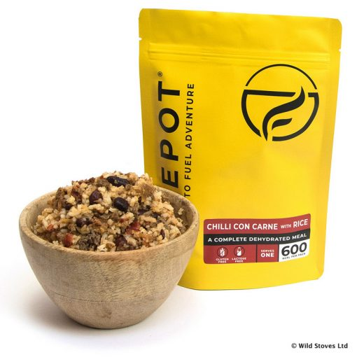 firepot dehydrated Food 0004 Chilli YELLOW