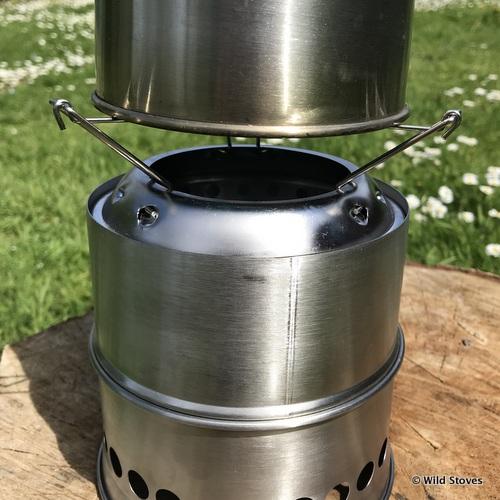 Kelly kettle mkiit base woodgas stove