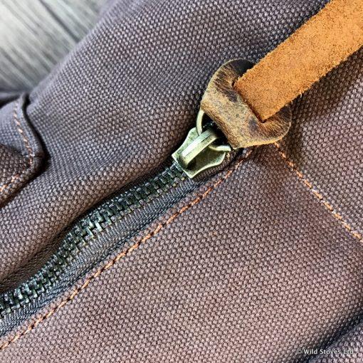 Wild Stove Grab Bags Zip detail