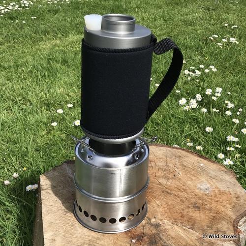 mkettle mkiit woodgas stove